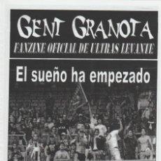 Collezionismo sportivo: FANZINE GENT GRANOTA 78 ULTRAS LEVANTE HOOLIGANS. Lote 199781071