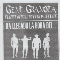 Collezionismo sportivo: FANZINE GENT GRANOTA 80 ULTRAS LEVANTE HOOLIGANS. Lote 199781151