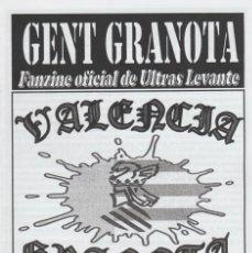 Collezionismo sportivo: FANZINE GENT GRANOTA 91 ULTRAS LEVANTE HOOLIGANS. Lote 199781517