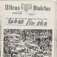 Coleccionismo deportivo: FANZINE ULTRAS VIOLETAS 11 VALLADOLID ULTRAS HOOLIGANS. Lote 199859763
