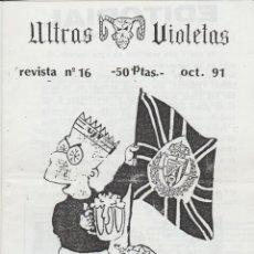 Coleccionismo deportivo: FANZINE ULTRAS VIOLETAS 16 VALLADOLID ULTRAS HOOLIGANS. Lote 199860117