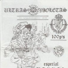 Coleccionismo deportivo: FANZINE ULTRAS VIOLETAS 2 VALLADOLID ULTRAS HOOLIGANS. Lote 199861762