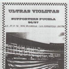 Coleccionismo deportivo: FANZINE ULTRAS VIOLETAS 3 VALLADOLID ULTRAS HOOLIGANS. Lote 199864967
