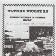 Coleccionismo deportivo: FANZINE ULTRAS VIOLETAS 4 VALLADOLID ULTRAS HOOLIGANS. Lote 199865116