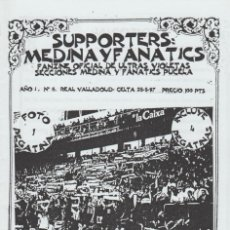Coleccionismo deportivo: FANZINE ULTRAS VIOLETAS MEDINA 6 VALLADOLID ULTRAS HOOLIGANS. Lote 199866938