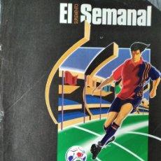 Coleccionismo deportivo: EUROCOPA 96 INGLATERRA - 1996 SUPLEMENTO ESPECIAL DE EL SEMANAL. Lote 200031852