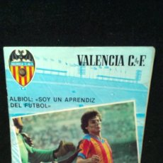 Coleccionismo deportivo: REVISTA OFICIAL VALENCIA C.F. 33. VALENCIA CLUB DE FÚTBOL. POSTER FUTURO VALENCIANISTA - 1979. Lote 200044255