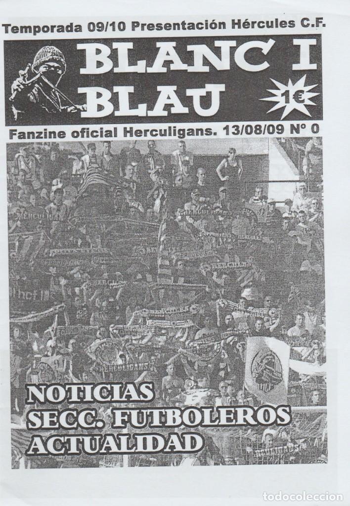 FANZINE HERCULIGANS 0 HÉRCULES ULTRAS HOOLIGANS (Coleccionismo Deportivo - Revistas y Periódicos - otros Fútbol)