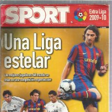 Collectionnisme sportif: SPORT EXTRA LIGA 2009. Lote 200581843