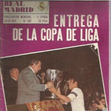 Collectionnisme sportif: REAL MADRID 302. Lote 200584026