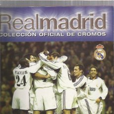 Collectionnisme sportif: ALBUM COMPLETO REAL MADRID 2000. Lote 200585981