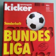 Coleccionismo deportivo: KICKER BUNDESLIGA 1995/96 (ESTADO IMPECABLE). Lote 200733072