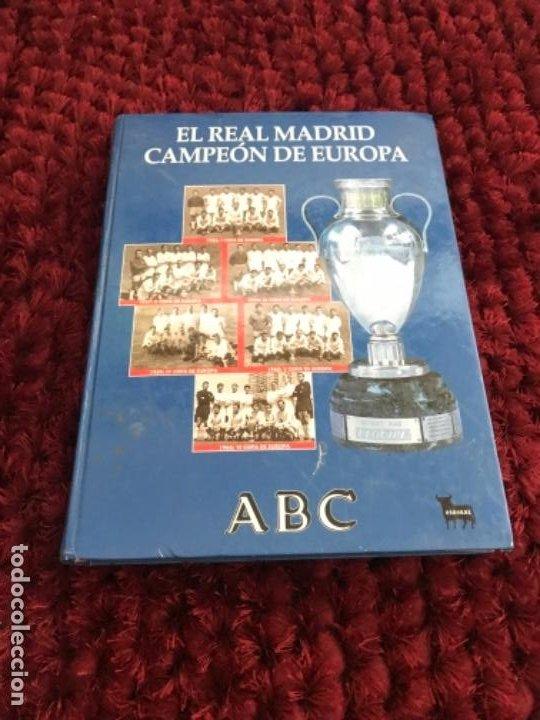 Coleccionismo deportivo: EL REAL MADRID CAMPEON DE EUROPA. ABC. COMPLETO. 37 FASCICULOS. - Foto 2 - 201119450