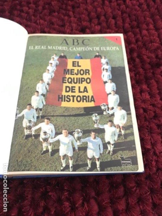 Coleccionismo deportivo: EL REAL MADRID CAMPEON DE EUROPA. ABC. COMPLETO. 37 FASCICULOS. - Foto 3 - 201119450
