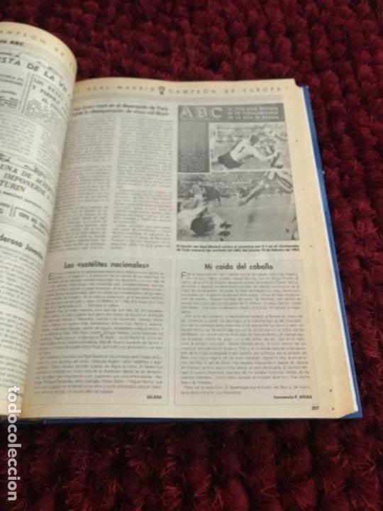 Coleccionismo deportivo: EL REAL MADRID CAMPEON DE EUROPA. ABC. COMPLETO. 37 FASCICULOS. - Foto 5 - 201119450