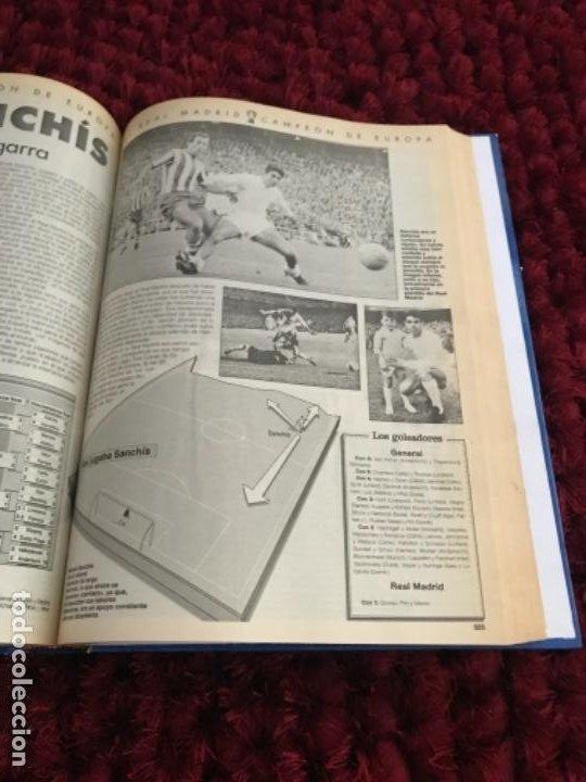Coleccionismo deportivo: EL REAL MADRID CAMPEON DE EUROPA. ABC. COMPLETO. 37 FASCICULOS. - Foto 6 - 201119450