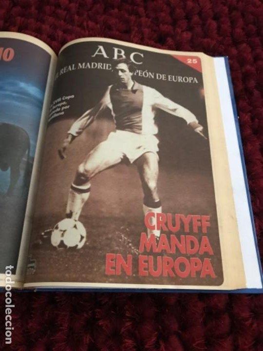Coleccionismo deportivo: EL REAL MADRID CAMPEON DE EUROPA. ABC. COMPLETO. 37 FASCICULOS. - Foto 7 - 201119450