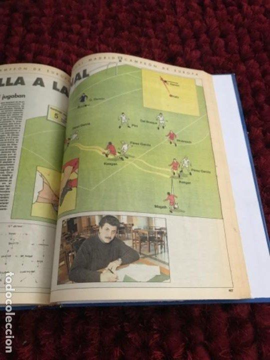 Coleccionismo deportivo: EL REAL MADRID CAMPEON DE EUROPA. ABC. COMPLETO. 37 FASCICULOS. - Foto 8 - 201119450