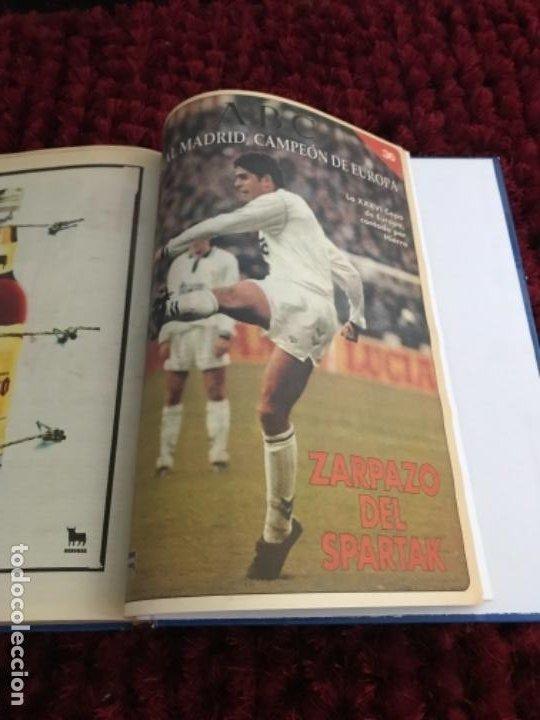 Coleccionismo deportivo: EL REAL MADRID CAMPEON DE EUROPA. ABC. COMPLETO. 37 FASCICULOS. - Foto 9 - 201119450