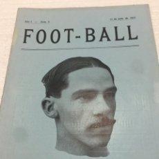 Coleccionismo deportivo: ENRIQUE PERIS FC BARCELONA ESPECIAL REVISTA FOOT-BALL 1915. Lote 202366933