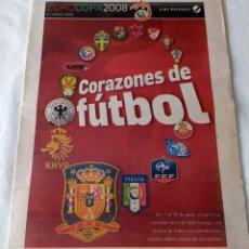 Coleccionismo deportivo: SUPLEMENTO DIARIO DE CÁDIZ - EUROCOPA DE FUTBOL 2008 - ESPAÑA - LA ROJA. Lote 202642293