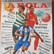 Coleccionismo deportivo: ANUARIO LIGA PORTUGUESA 18-19 CADERNOS DE A BOLA FUTEBOL 2018-2019 194 PAG.. Lote 203050570