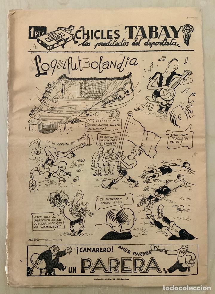Coleccionismo deportivo: REVISTA (PERIÓDICO) EL ONCE N 295 12 DE SEPTIEMBRE DE 1950 - Foto 2 - 203293078