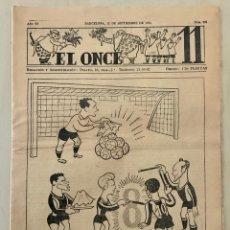 Coleccionismo deportivo: REVISTA (PERIÓDICO) EL ONCE N 295 12 DE SEPTIEMBRE DE 1950. Lote 203293078