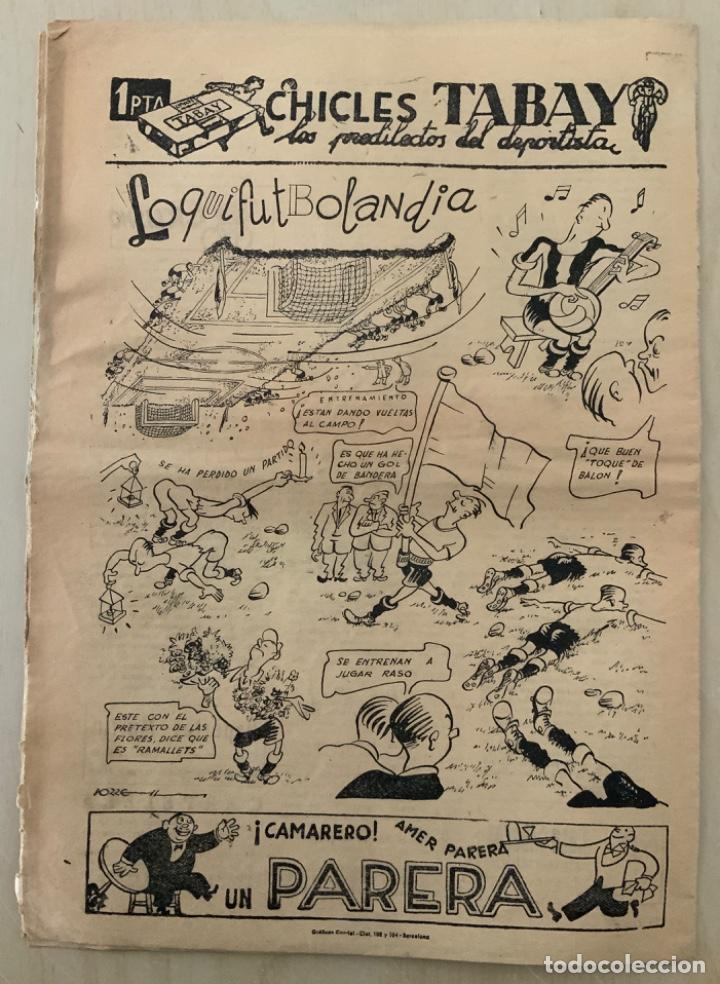 Coleccionismo deportivo: REVISTA (PERIÓDICO) EL ONCE N 297 26 DE SEPTIEMBRE DE 1950 BARCELONA 7 MADRID 2 - Foto 2 - 203293393