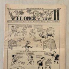 Coleccionismo deportivo: REVISTA (PERIÓDICO) EL ONCE N 298 4 DE OCTUBRE DE 1950. Lote 203293498