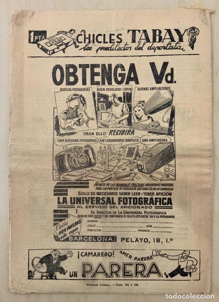 Coleccionismo deportivo: REVISTA (PERIÓDICO) EL ONCE N 299 10 DE OCTUBRE DE 1950 - Foto 2 - 203293648