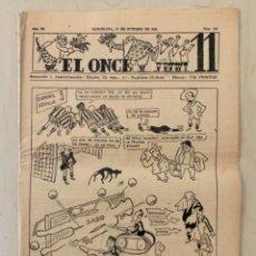 Coleccionismo deportivo: REVISTA (PERIÓDICO) EL ONCE N 300 17 DE OCTUBRE DE 1950. Lote 203293735