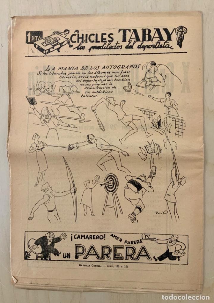Coleccionismo deportivo: REVISTA (PERIÓDICO) EL ONCE N 301 24 DE OCTUBRE DE 1950 - Foto 2 - 203293806