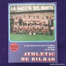 Coleccionismo deportivo: REVISTA LA GACETA DEL NORTE. FASCICULO Nº1. ATHLETIC DE BILBAO. FUTBOL.. Lote 203359338