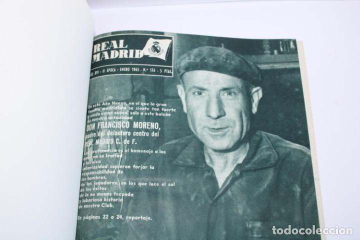 TOMO ENCUADERNADO REVISTA REAL MADRID 1965 (Coleccionismo Deportivo - Revistas y Periódicos - otros Fútbol)