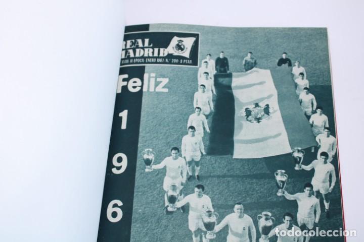 TOMO ENCUADERNADO REVISTA REAL MADRID 1967 (Coleccionismo Deportivo - Revistas y Periódicos - otros Fútbol)