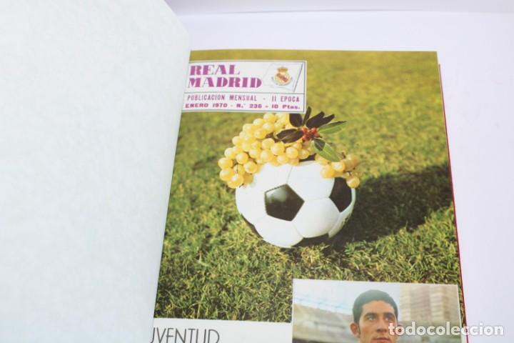 TOMO ENCUADERNADO REVISTA REAL MADRID 1970 (Coleccionismo Deportivo - Revistas y Periódicos - otros Fútbol)