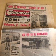 Collectionnisme sportif: VALENCIA CF CELTA DAUCIK ASENSI 1-5-1971. Lote 203782366