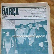 Coleccionismo deportivo: GRAN LOTE 8 PERIODICOS REVISTAS BARÇA FC BARCELONA 1966-1970 LIGA FUTBOL 1ªDIVISION CICLISMO+REGALOS. Lote 204712541