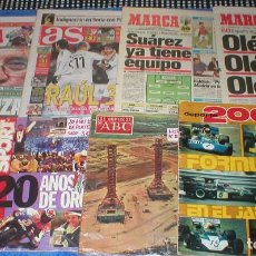 Coleccionismo deportivo: LOTE 9 PERIODICOS REVISTAS DEPORTIVAS MARCA BARÇA CARLES PUYOL SPORT DEPORTE 2000 + REGALO OFERTA !. Lote 204832756