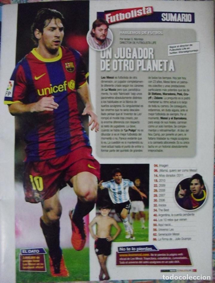 Coleccionismo deportivo: Revista de fútbol Futbolista - Especial Leo Messi (2012) - Foto 2 - 204847453