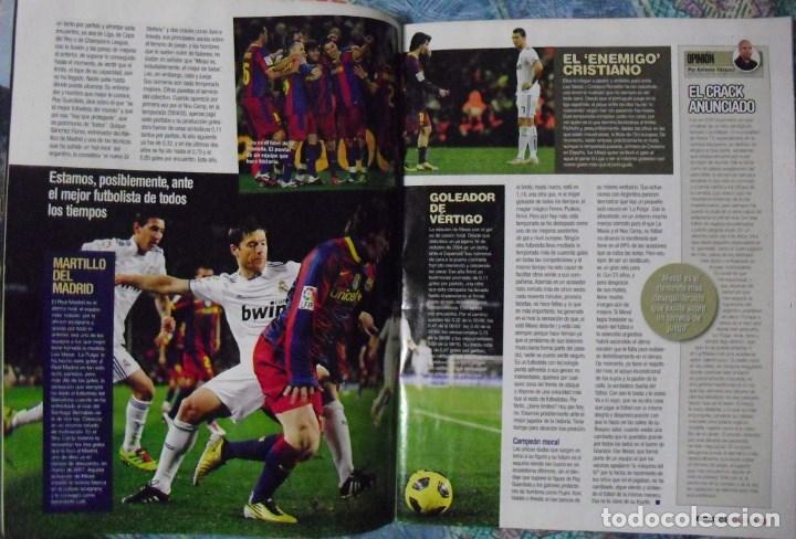 Coleccionismo deportivo: Revista de fútbol Futbolista - Especial Leo Messi (2012) - Foto 4 - 204847453