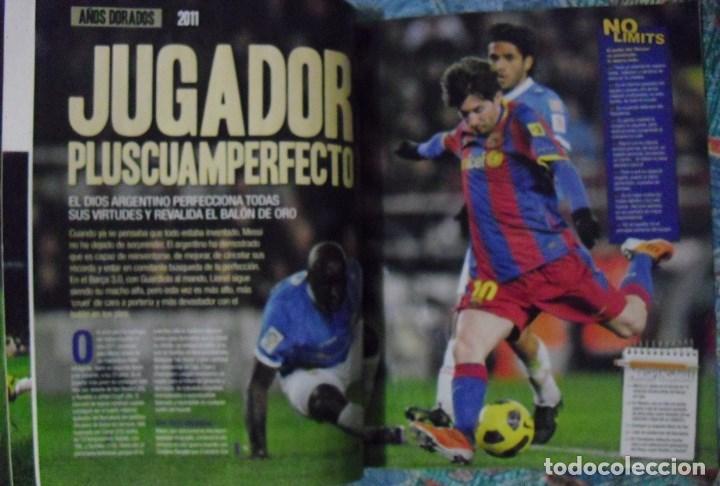 Coleccionismo deportivo: Revista de fútbol Futbolista - Especial Leo Messi (2012) - Foto 5 - 204847453