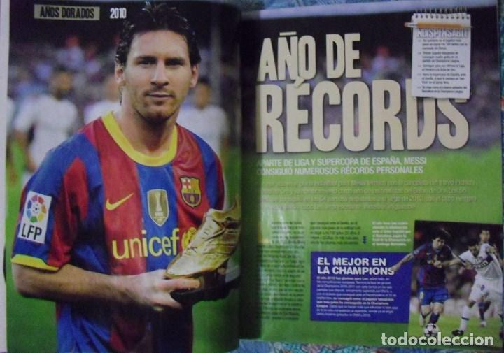 Coleccionismo deportivo: Revista de fútbol Futbolista - Especial Leo Messi (2012) - Foto 6 - 204847453
