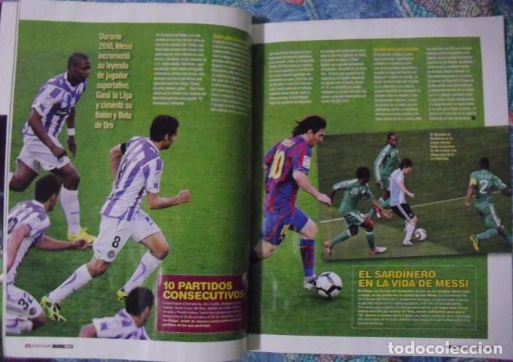 Coleccionismo deportivo: Revista de fútbol Futbolista - Especial Leo Messi (2012) - Foto 7 - 204847453