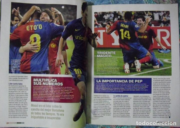 Coleccionismo deportivo: Revista de fútbol Futbolista - Especial Leo Messi (2012) - Foto 8 - 204847453
