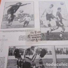 Collezionismo sportivo: RECORTE 1929 - SPORTING DEL PUERTO DE SAGUNTO CONTRA EL GIMNASTICO - TAMAÑO 21 X 21 CM. TAMAÑO RECOR. Lote 214873896