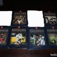 Coleccionismo deportivo: DVD PARTIDOS HISTÓRICOS DEL REAL MADRID (10 EUROS CADA UNO - 60 EUROS TODOS). Lote 205022761