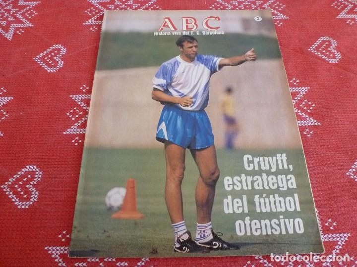 HISTORIA VIVA F.C.BARCELONA-Nº: 2-CRUYFF,EL CAMP NOU,PAULINO ALCÁNTARA,KOEMAN. (Coleccionismo Deportivo - Revistas y Periódicos - otros Fútbol)