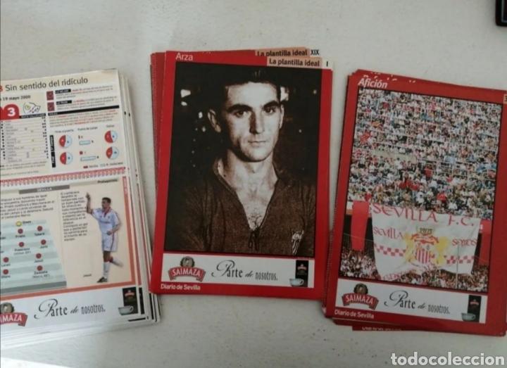 MAGNÍFICO LOTE SEVILLA F.C.-93 FICHAS COLECCIÓN CORREO DE SEVILLA JUGADORES DE ÉPOCA VER (Coleccionismo Deportivo - Revistas y Periódicos - otros Fútbol)